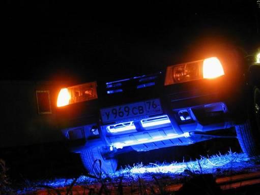 Подсветка салона - АвтоЗС