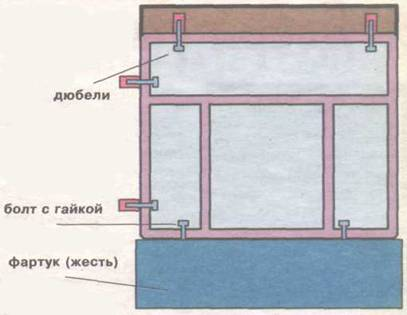 Установка деревянной рамы на балконе своими руками 81