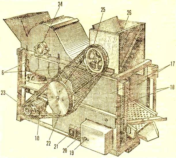 Как сделать молотилку для зерна своими руками 177