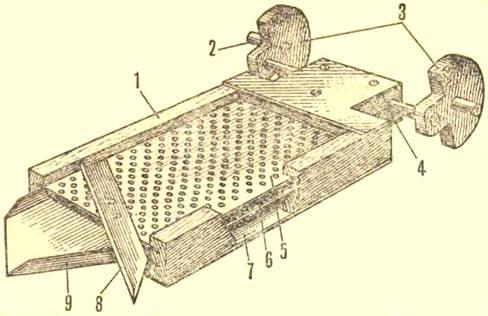 Как сделать молотилку для зерна своими руками 888